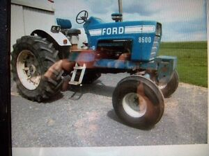Wanted ford 8000 to 9600 open station tractor