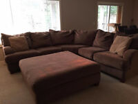 Great sectional available for pickup