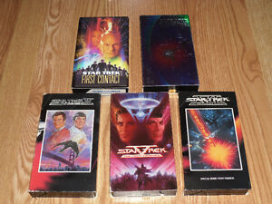 Star Trek Movies Voyager Complete Series VHS cassette VCR tapes