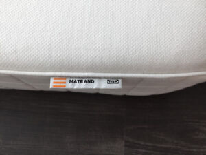 Queen mattress (Ikea, MATRAND, white, firm)