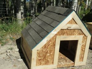 "Brand New 48""X48"" Slant Roof Dog Houses $150.00 (IN STOCK)"
