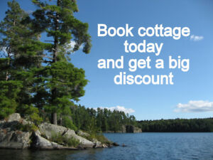 Last Minute Deals   -- Special Deals --  Waterfront Cottages!!!!