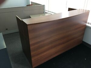 Handsome reception desk