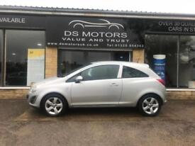 2012 Vauxhall corsa active 1.2 petrol 3 door only 30,000 Miles