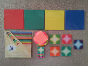 NEW Origami Craft Materials and Two Origami Books London Ontario image 1