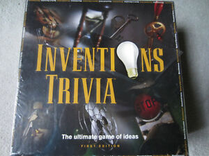 BRAND NEW - INVENTIONS TRIVIA BOARD GAME