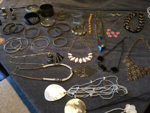 Impressive 41 Pieces Of High End Fashion Jewelry - NICE!