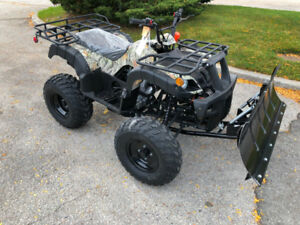 New ATV with Snow Plow and Winch $3000.00 Call 905.856.3212