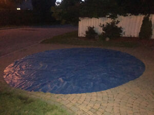 solar cover for 18' above ground round pool Gatineau Ottawa / Gatineau Area image 1