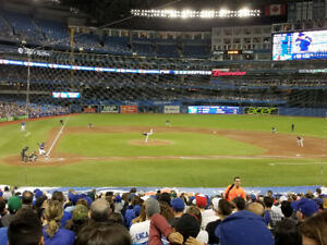 BLUE JAYS TICKETS: SEATS WITH THE AMAZING VIEWS YOU SEE HERE!!!
