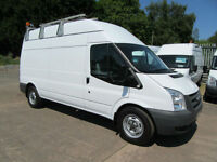 Ford Transit 350 115Bhp Lwb Maintenance Utility Workshop Fitters Van 240v Power