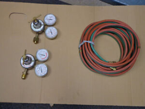 Oxy-Acetylene Gages & Hose