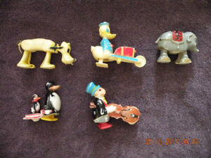 Disney Ramp Walkers Pluto, Donald, Jiminy, Chilly Willy, Elephan