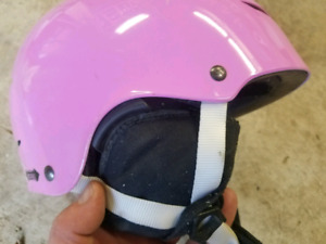 Girls snowboard helmet