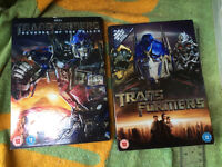 TRANSFORMERS 1 and 2 AS NEW DVD BOX SETS