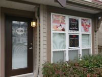 New boutique spa in *Clayton Heights* massage, waxing & facials