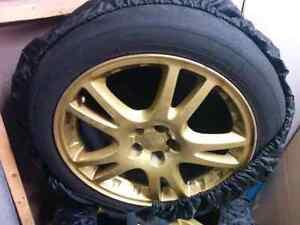 "JDM Subaru STi Wheels 17"""