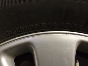 Honda Odyssey tires 235 / 65 r 16 West Island Greater Montréal image 4