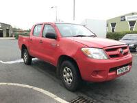 (56) 2007 Toyota Hi-Lux 2.5D-4D 4WD HL2 Double Cab No VAT Export