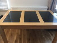 Granite layered luxury dining table