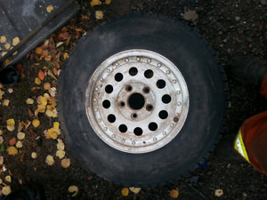 SELLING USED WHEELS AND TIRES