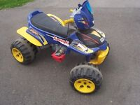 Electric 4 Wheeler Power Wheels