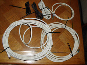 VARIOUS COAX TV CABLES