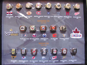Molson Canadian Stanley Cup rings at Targets Flea Market