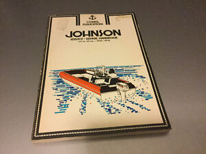 Johnson Outboard Motor Shop Manual 1.5 to 33 Hp 1965-1975