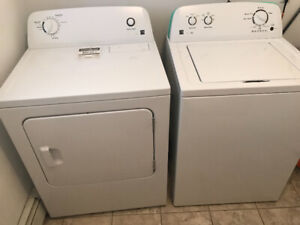 Washer and Dryer 3 years old only