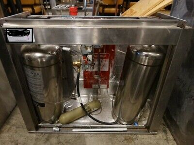 Stainless Steel Commercial Ansul System W 2 Tanks