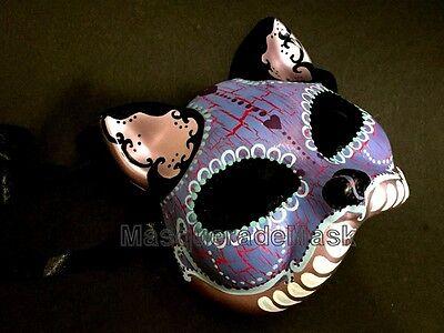 Halloween kitty cat mask D? de Muertos unisex children adult costume - Kid Cat Halloween Costume
