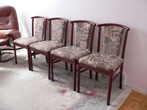 Cherry Wood Decorative Chairs