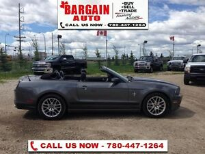 2014 Ford Mustang V6 Premium  Soft Convertible ,Leather interior