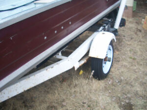 14'- boat--Motor and Trailer