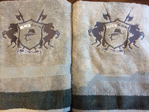 SLICKMEN BATH TOWELS GREY