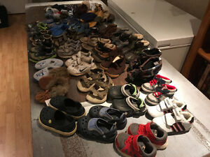 Large lots baby boy/toddler shoes