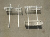 Reduced Again! European-Style Wire Shelves