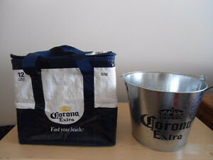 CORONA COOLER AND ICE BUCKET