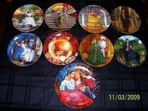"""""""Gone With The Wind"""" Plate Series"""