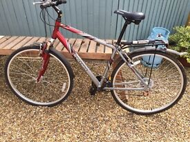 Gents bicycle - as new - hardly ridden