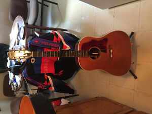 Rare vintage, 1967 J50 Gibson, 6 string acoustic guitar