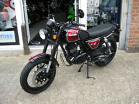 Bullit Motorcycles Hunt 125cc Fi S Naked 2017 Latest Euro 4 Model