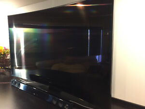 "65"" Samsung 4K Smart 3D with LG sound bar and woofer Regina Regina Area image 1"