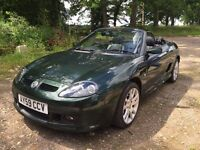 MG TF 2009 11k miles, full history, recent mot, reluctant sale.