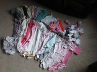 Lot of 50+ baby/toddler 6-36m clothing items