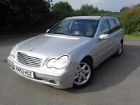 2003 Mercedes-Benz C Class 2.1 C220 CDI Elegance SE 5dr