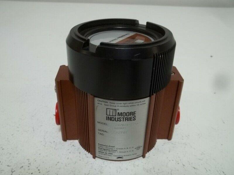 MOORE EPFDX/E/4-20MA TRANSMITTER * USED *