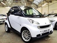 2009 Smart Fortwo 1.0 Passion Cabriolet 2dr Petrol Automatic (105 g/km, 71