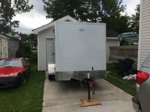 2018 6x12 Enclosed Cargo Trailer Dual Axle